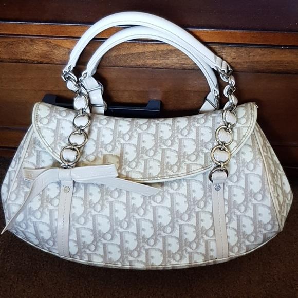 Dior Handbags - Authentic Dior trotter romantique satchel